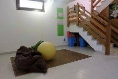 Лестница и нижний этаж