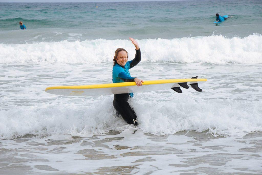 Отзыв о сёрф-туре на о. Фуэртевентура от Алены