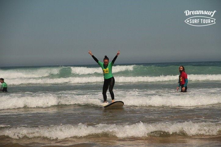 школа сёрфинга в Испании