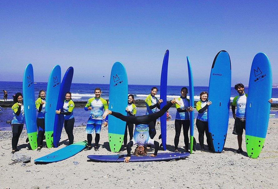 Сёрфинг на Канарах в Новый год 2019 - Тенерифе
