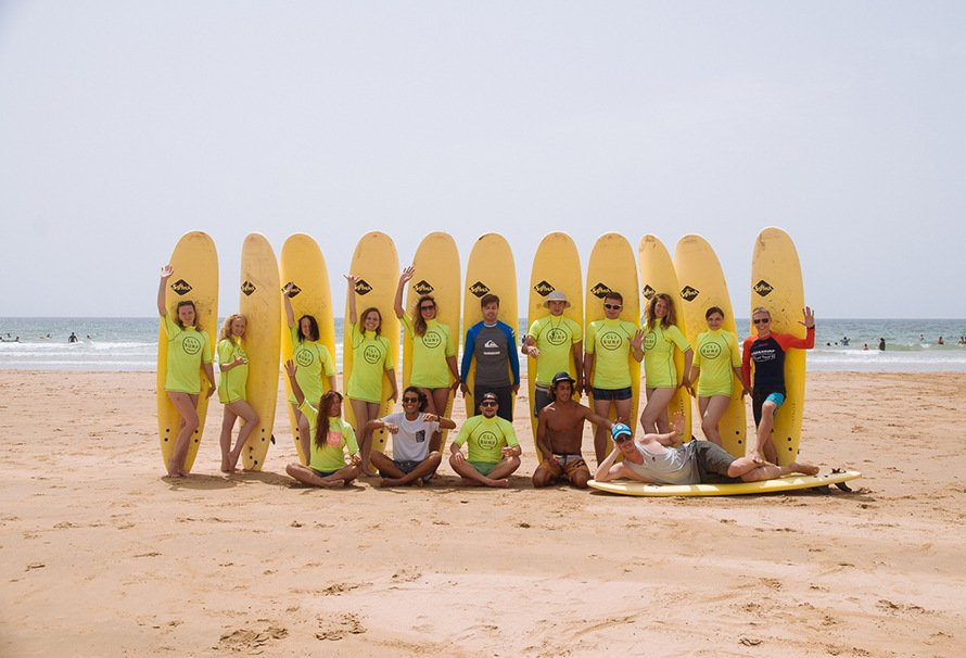 Сёрфинг в Марокко в Новый год 2019
