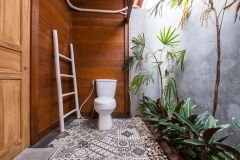 Душ и туалет в бунгало