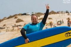 Довольный Глеб после сёрфинга