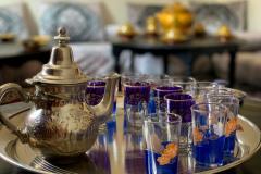 Традиционный чай по вечерам в кемпе