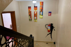Милые детали на лестнице