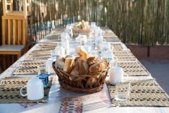 Завтраки на вилле в Марокко