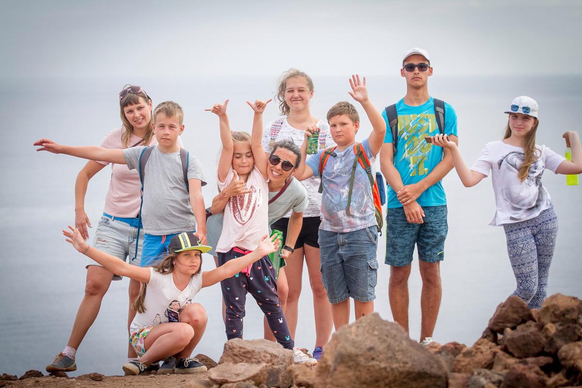 Детский сёрф-лагерь в Португалии