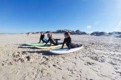 Детский сёрф лагерь в Португалии