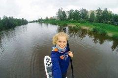 SUP сёрфинг в Петербурге