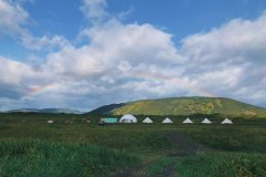 Проживание в кемпе на Камчатке