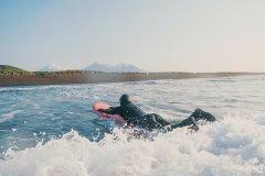 Уроки сёрфинга на Камчатке