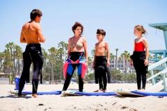 Русская школа сёрфинга в Калифорнии