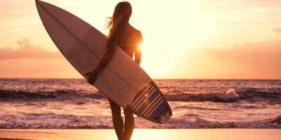 Только для девченок! Женский сёрф-кемп на Фуэртевентуре (Испания)