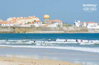 школа сёрфинга в Португалии