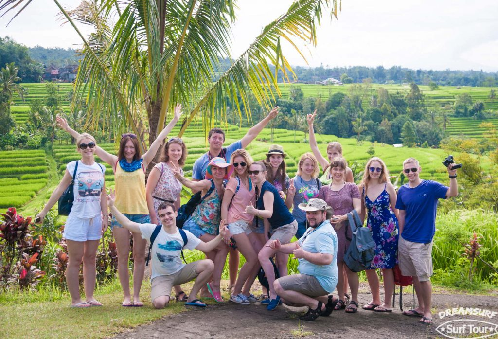 Наша команда Бали 2017 dreamsurf