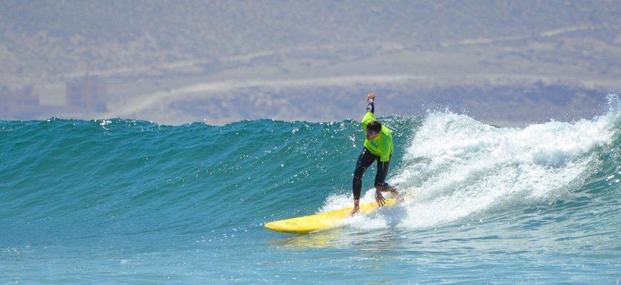 Сёрфинг тур в августе 2017 в Марокко