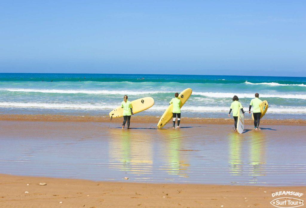 Уроки сёрфинга в Марокко в мае 2017