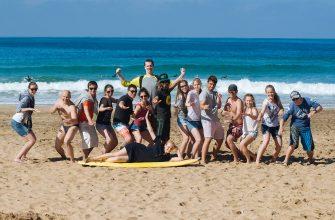 Сёрфинг на Новый год 2018 на Канарских островах