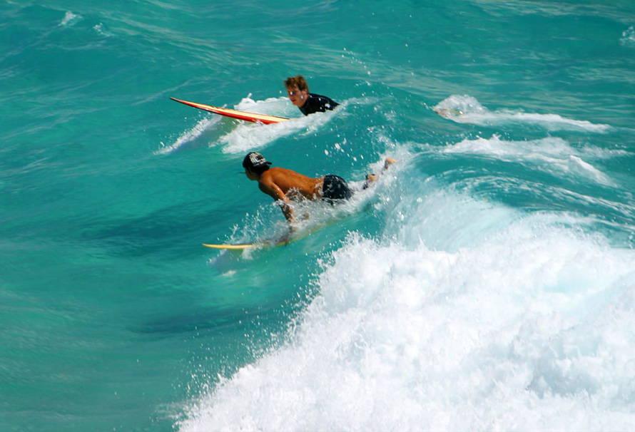 Сёрфинг в октябре на Пхукете