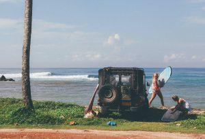 Сёрфинг в октябре на Шри-Ланке