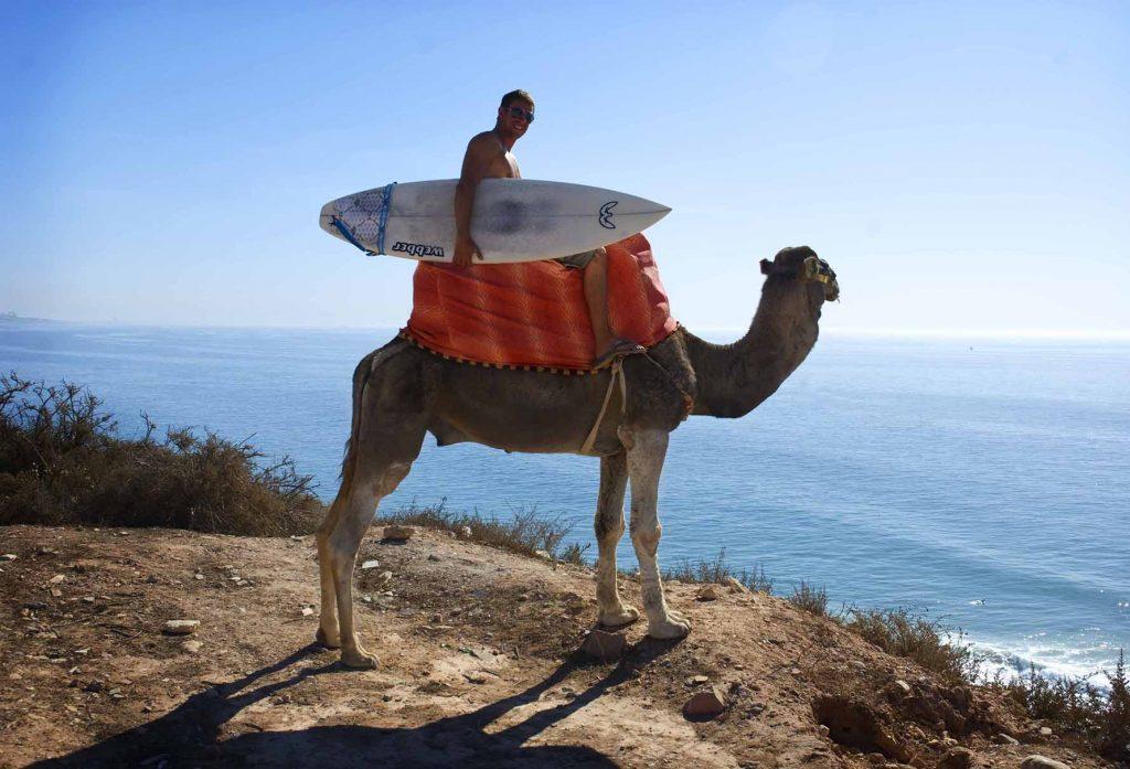 Сёрфинг в октябре в Марокко