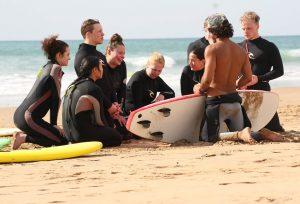 Сёрфинг школа Banana beach