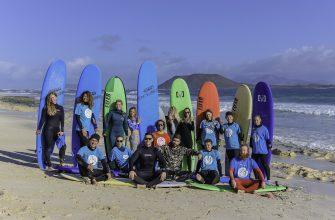 Отчёт сёрф тур Фуэртевентура 2018