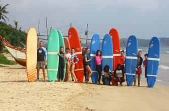 Сёрфинг тур на Шри-Ланку в Новый год 2018