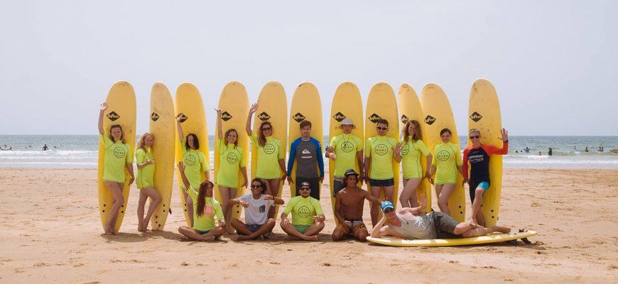 Групповой сёрф тур в Марокко в сентябре 2018
