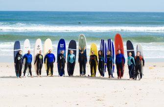 Сёрфинг тур в октябре в Португалию 2018