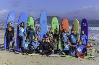 Серфинг на Канарах в Новый год 2019 Фуэртевентура