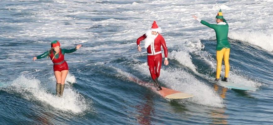Сёрфинг на Новый год 2020