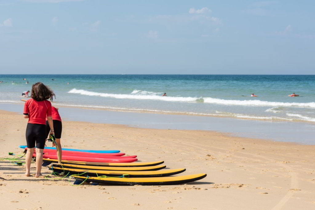 Сёрфинг в Аркашон