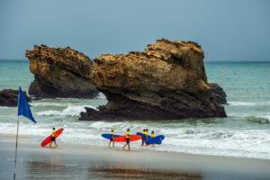 Сёрфинг во Франции