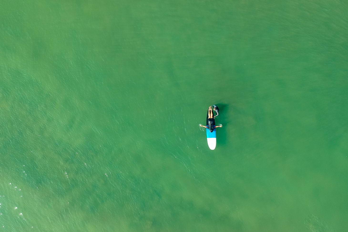 Сезон сёрфинга на Гоа