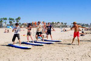 Сёрфинг в Лос Анджелесе