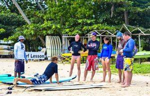 Сёрфинг школа в Велигама